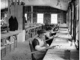 Etching Department, Dorflinger Factory.