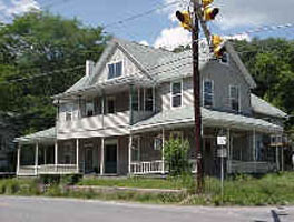 The former White Mills Hotel, corner of Elizabeth St. and Route 6, White Mills