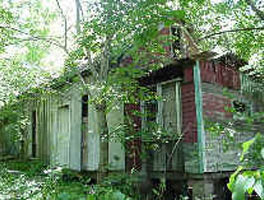 Abandoned Worker's House, Ash St., White Mills.