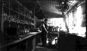 """Tumblers"" working in the Dorflinger Factory"