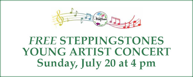 Free Steppingstones Young Artist Concert