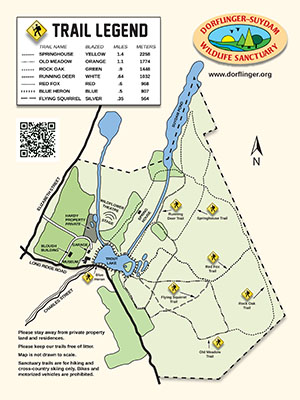 Dorflinger Suy.-Trail Map Handout
